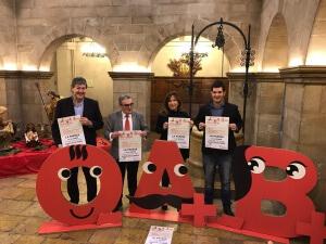 Presentació de la Marató 2.0 a l'Ajuntament de Lleida