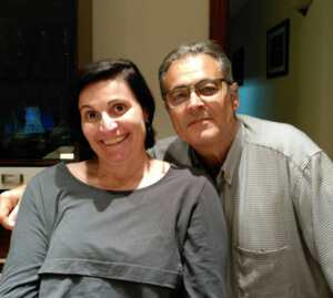 Albert i Marta, pare i filla, donant i receptora