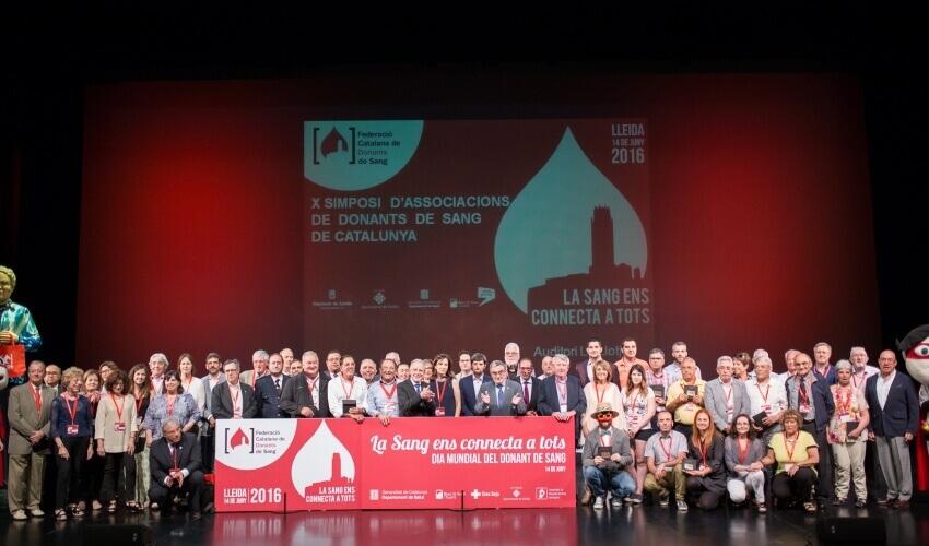 Homenatjats Dia Mundial del Donant de Sang