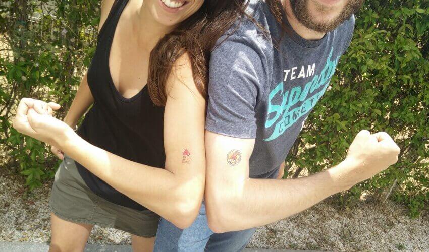 Tattoos amics per sempre