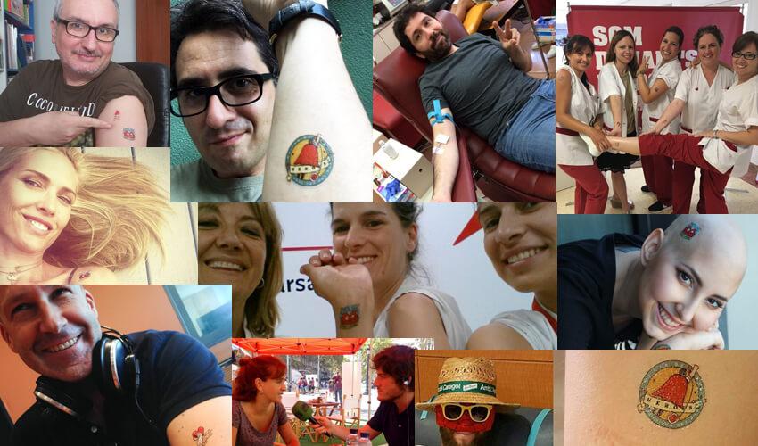 Donants amb 'tatoos'