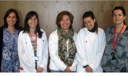 Equip del Laboratori de Seguretat Transfusional