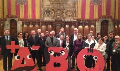 Presentació Marató 2.0 a l'Ajuntament de Bardelona