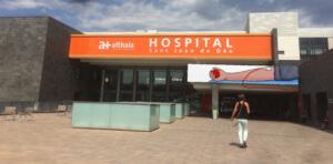 Façana de l'Hospital de Manresa