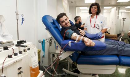 Donació plasma Hospital Clínic