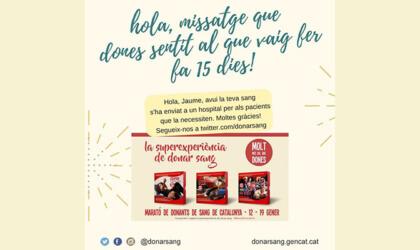 SMS donants Banc de Sang