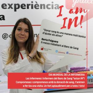 Berta Folguera, infermera del BST