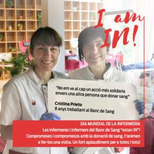 Cristina Prieto, infermera del BST