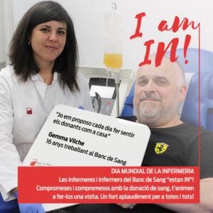 Gemma Vilche, infermera del BST