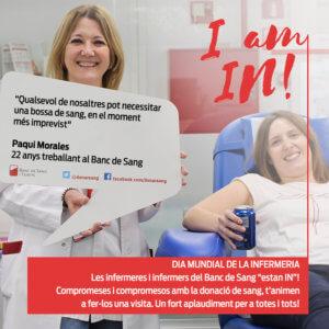 Paqui Morales, infermera del BST