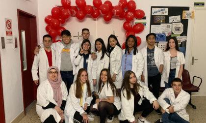 Estudiants de medicina