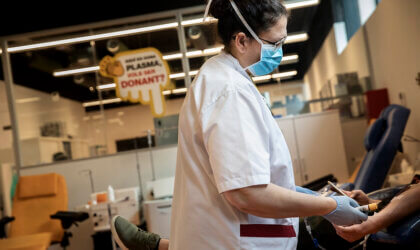 Donació de plasma Sant Pau
